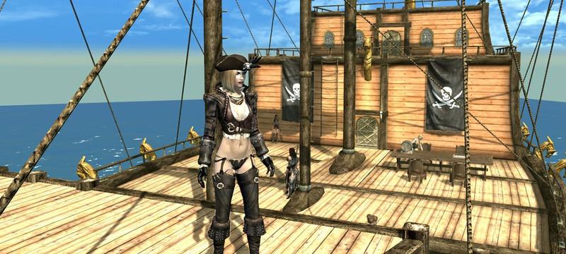 Мод превращает Skyrim в пиратскую игру