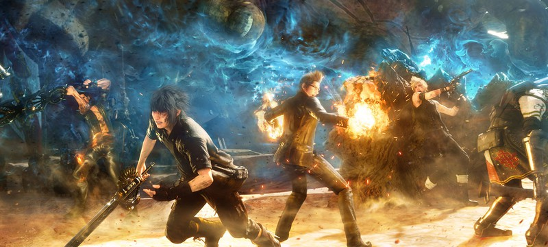 Геймплей Final Fantasy XV – Данжены и Природа в 1080p