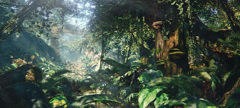 Виртуальные джунгли на Unreal Engine 4 при помощи Megascans