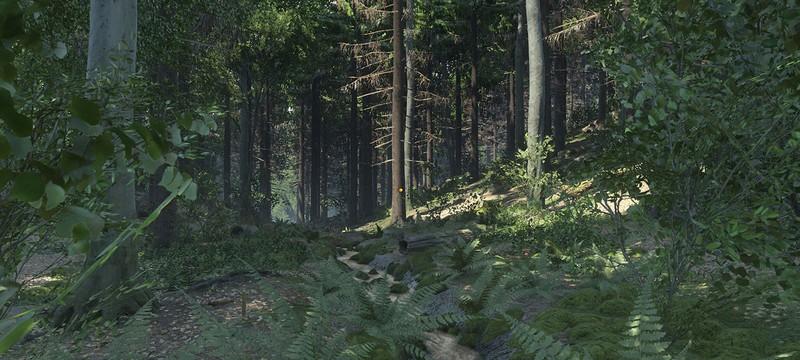 Фотореалистичный лес в Kingdom Come: Deliverance