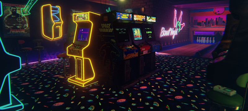 Аркадный зал в Unreal Engine 4 на 1080p и 60fps