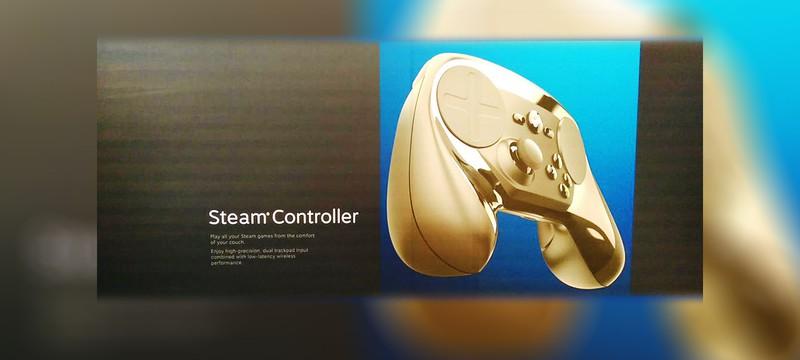 Финальная версия контроллера Steam