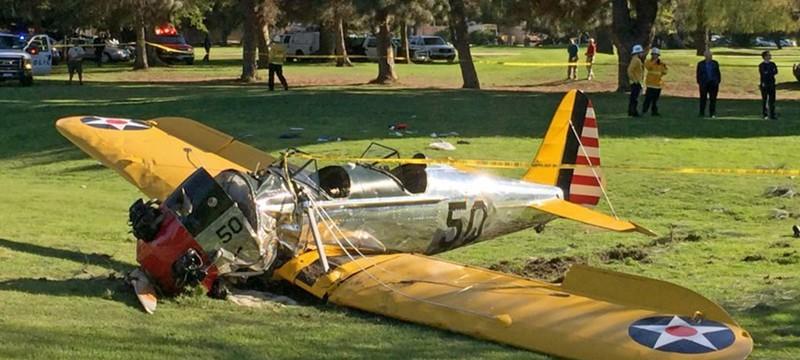 Разбился самолет Харрисона Форда