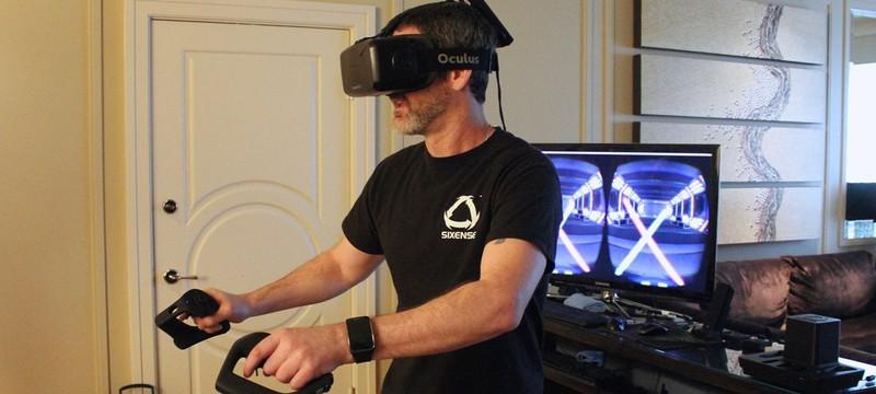 Световые мечи в виртуальной реальности