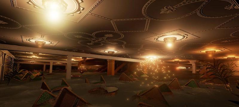 Скриншоты тонущего Титаника в Titanic: Honor and Glory
