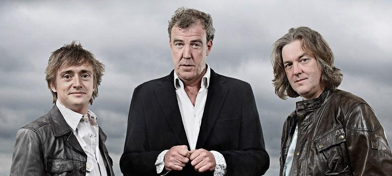 Шоу Top Gear снято с эфира на неопределенный срок