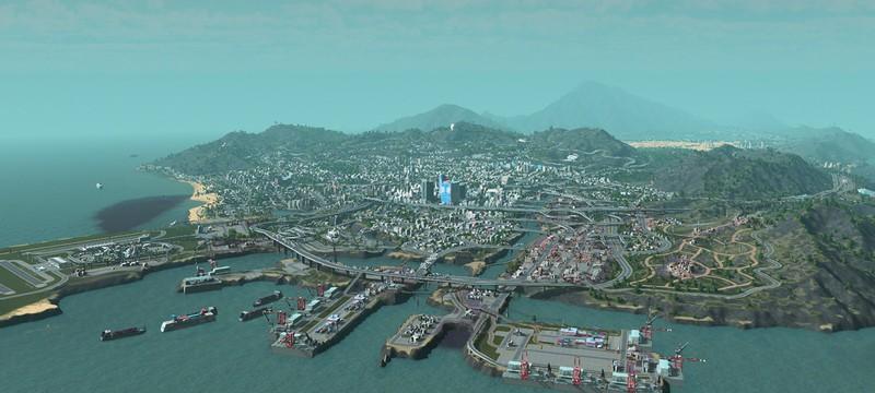 Лос-Сантос из GTA 5 воссоздан в Cities: Skylines