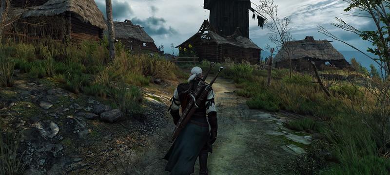 The Witcher 3 без настройки дистанции прорисовки и DirectX 12, но с модами