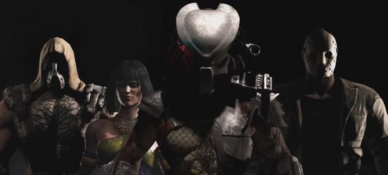 Первый взгляд на Хищника в Mortal Kombat X