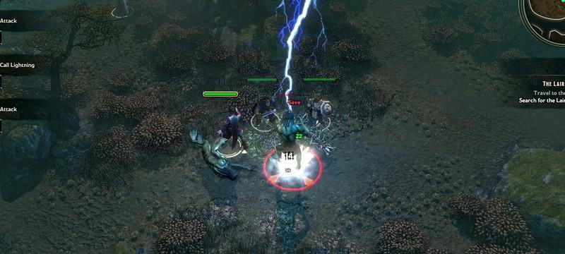 10 минут геймплея Sword Coast Legends – классической D&D RPG