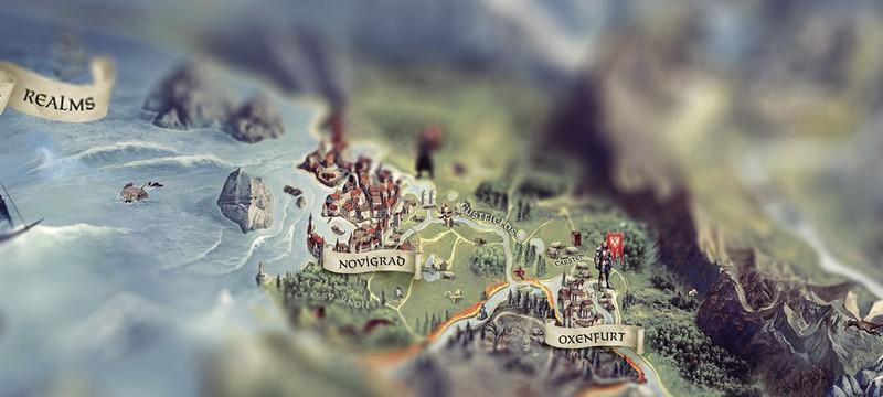 Карта The Witcher 3
