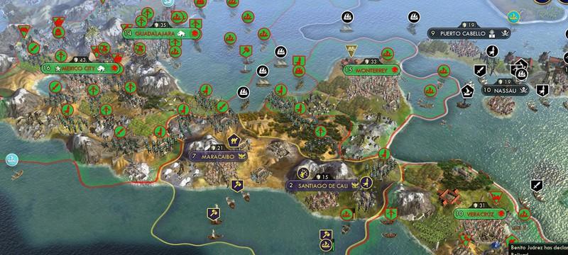 42 цивилизации продолжили эпичную битву в Civilization 5