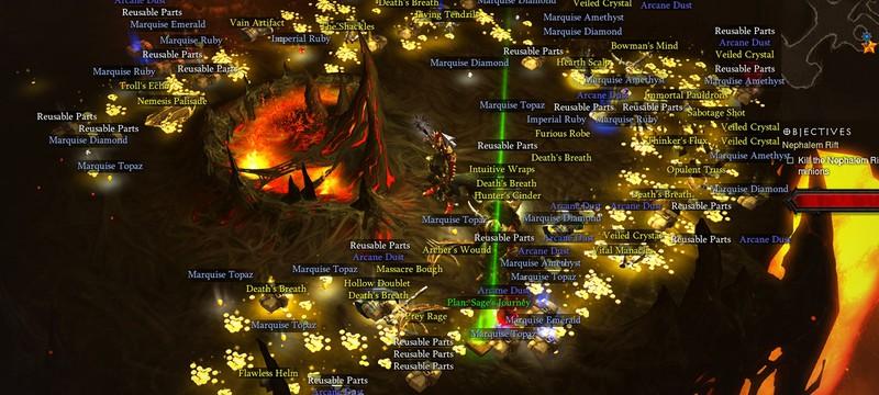 Игрок Diablo 3 наткнулся на целую толпу гоблинов