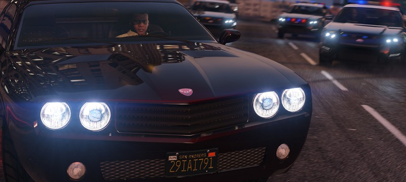 Новые скриншоты GTA V на PC