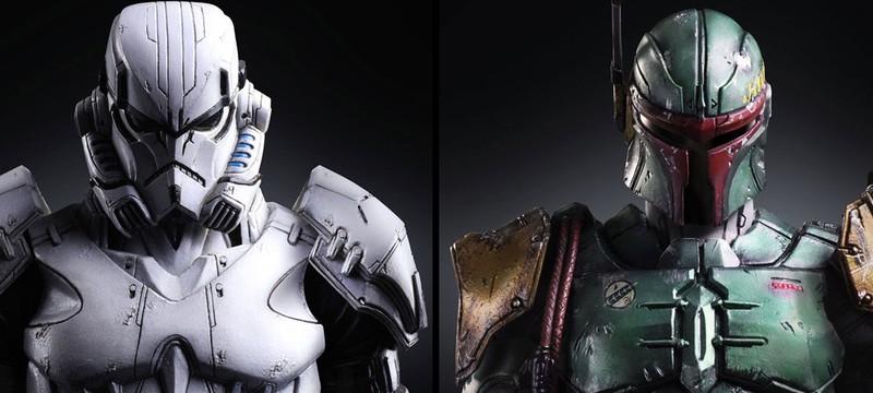 Редизайн Боба Фетта и Штурмовика в виде шикарных фигурок от Square Enix