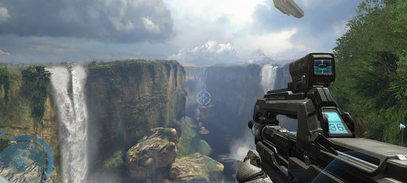 30 минут геймплея и скриншоты Halo Online