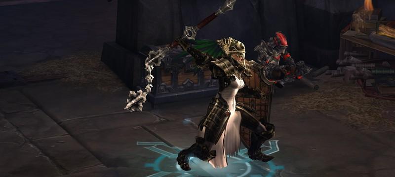 Diablo 3 под другим углом выглядит как MMO