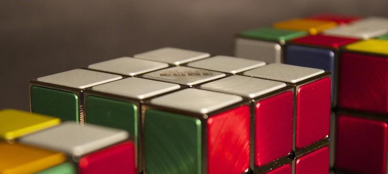 Анимация из 1,296 Кубиков Рубика