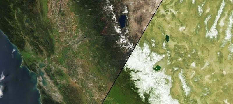Калифорнию ждет один из самых засушливых сезонов