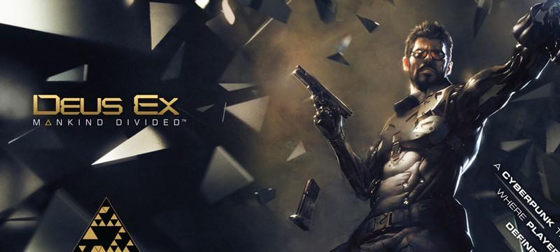 Deus Ex: Mankind Divided на обложке Game Informer