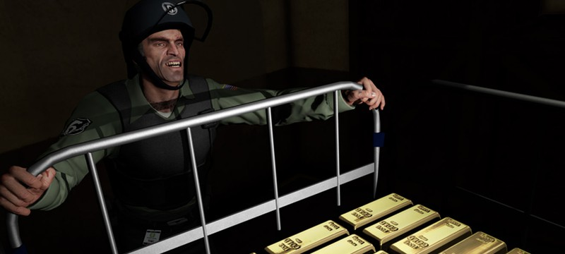 GTA 5 в топе популярных игр Steam