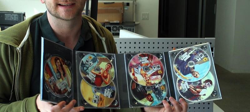 GTA 5 на PC действительно на 7 дисках