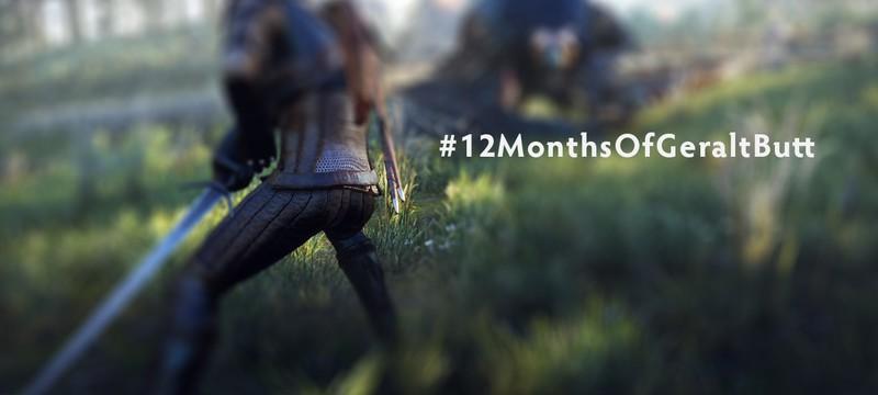 Фанатка Witcher 3 хочет календарь из... задницы Геральта