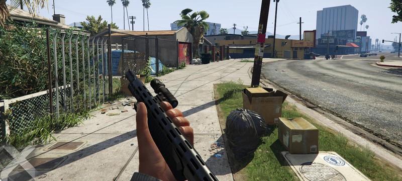 Мод для GTA 5 позволяет менять область обзора