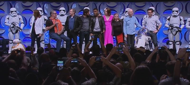 Яркие моменты с панели Star Wars: The Force Awakens