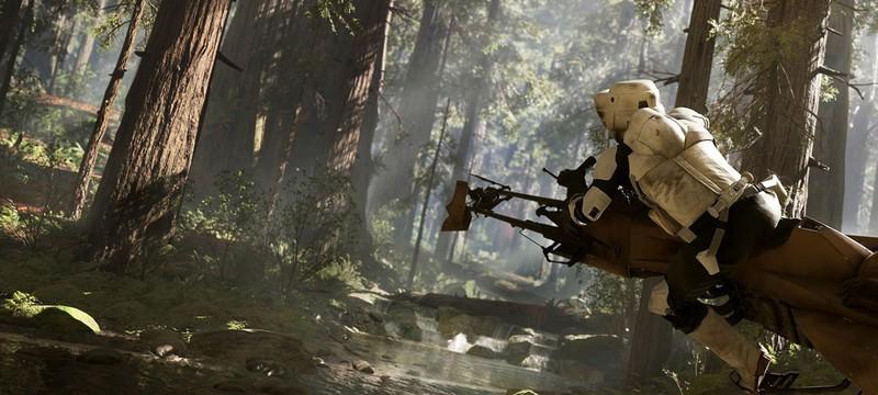 Первый скриншот Star Wars: Battlefront и постер