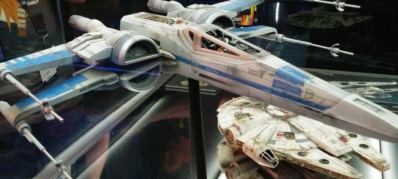 Выставка экспонатов Star Wars: The Force Awakens