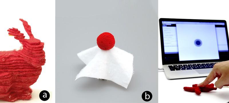 Disney изобрела 3D-принтер печатающий материей