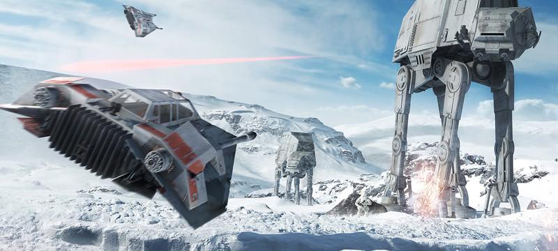 В Star Wars: Battlefront нет одиночной кампании