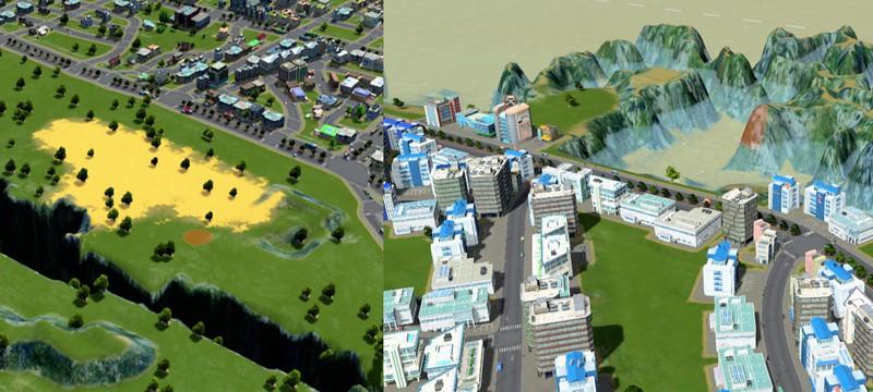 Мод Cities: Skylines добавляет терраформинг