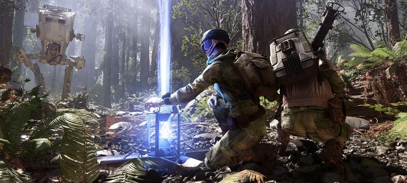 В Star Wars Battlefront можно играть в одиночку