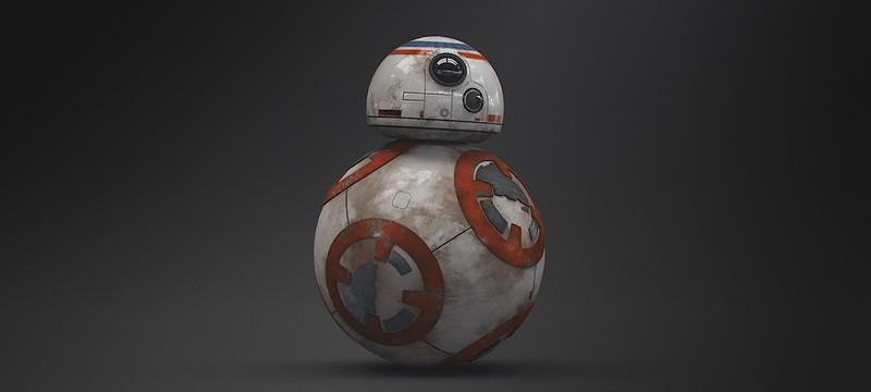 Умелец создал рабочую модель робота BB-8 из Star Wars: The Force Awakens