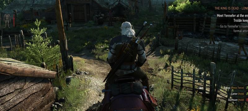 Геральт в бане и другое на скриншотах The Witcher 3