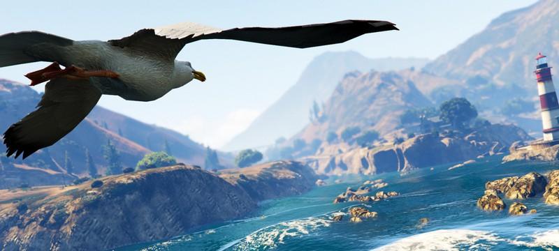 Мод GTA 5 заставляет китов падать с неба