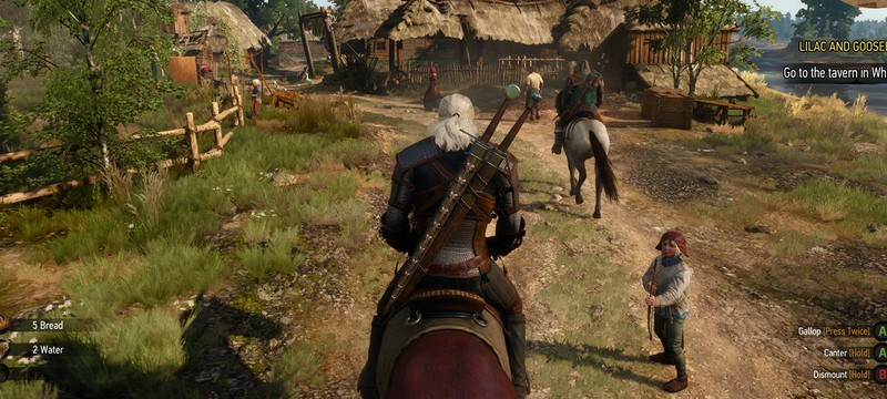Еще 4 новых скриншота The Witcher 3