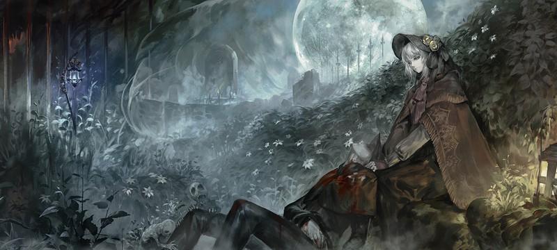 Полноценная карта Bloodborne