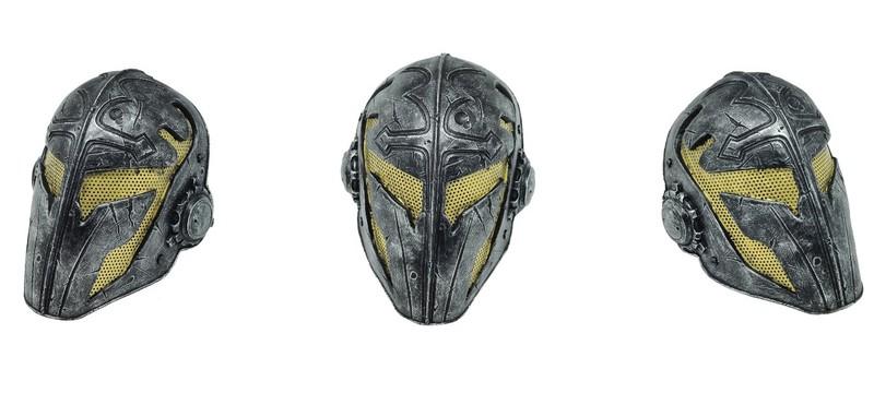 Маска Дэдшота в Suicide Squad — всего лишь маска для пейнтбола?