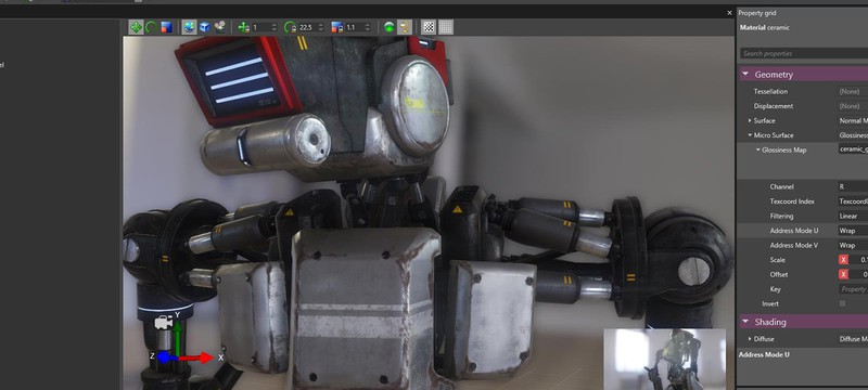Новая демонстрация движка Paradox Game Engine