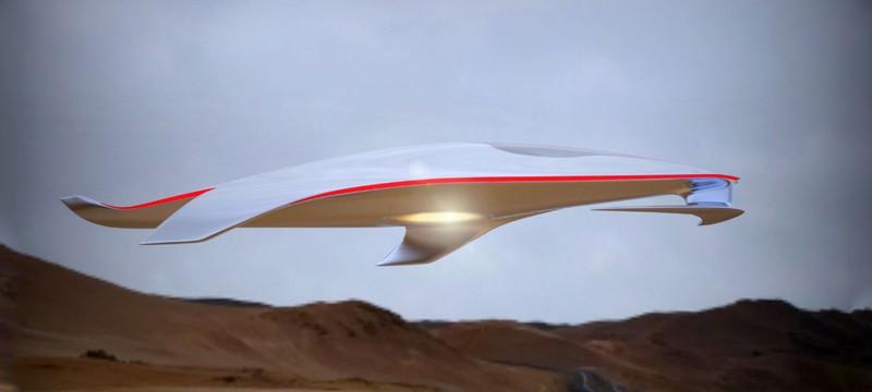 Дизайнер Ferrari представил космический корабль будущего