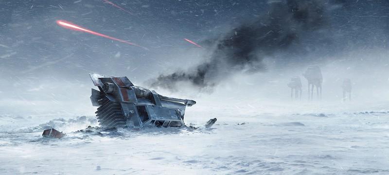 В Star Wars: Battlefront можно летать на сноуспидере