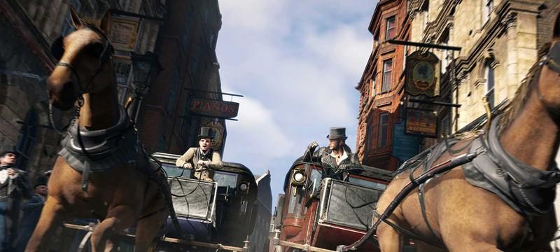 В Assassin's Creed: Syndicate можно красть кареты и лошадей