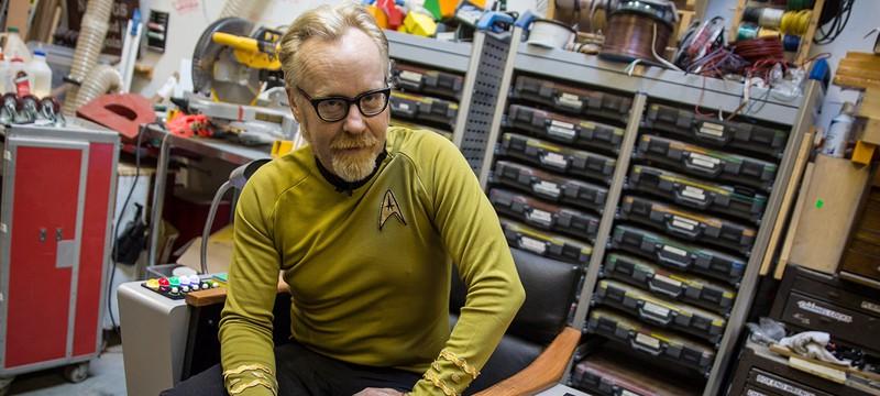 Как Адам Сэвидж собрал капитанское кресло из Star Trek