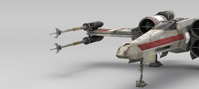 Модель X-wing из Star Wars: Battlefront