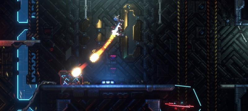 Как выглядят крутые световые эффекты в пиксельной игре