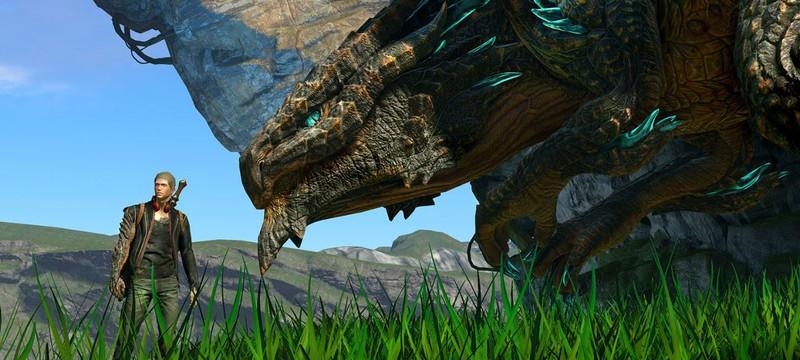 Новый геймплей Scalebound