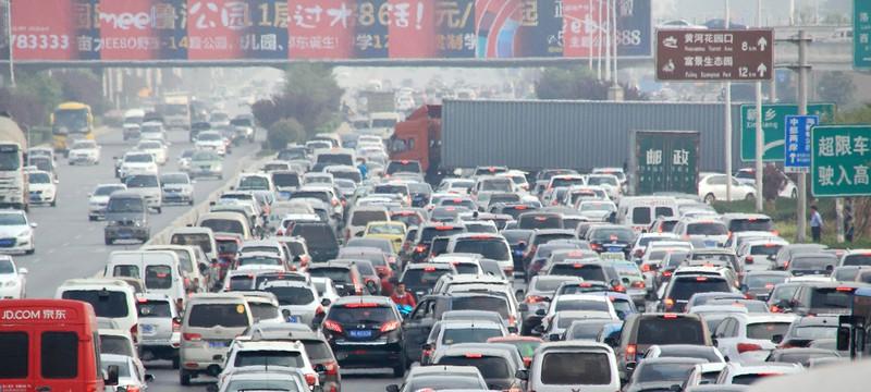 Short: как сделать гигантскую пробку в Пекине